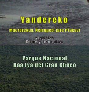 Two recent films from Bolivia on the Guaraní-Isoseño people and their protected area